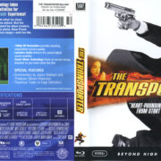 The Transporter (2002) R1 Blu-Ray Cover & label