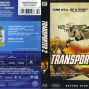 Transporter 2 (2005) R1 Blu-Ray Cover & label