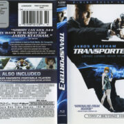 Transporter 3 (2008) R1 Blu-Ray Cover & label Blu-Ray Cover & label