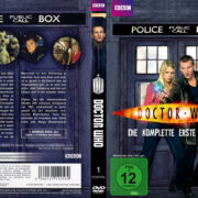 Doctor Who: Staffel 1 (2006) R2 German Custom Cover & labels