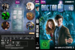 Doctor Who: Staffel 5 (2010) R2 German Custom Cover & labels