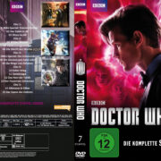 Doctor Who: Staffel 7 (2012) R2 German Custom Cover & labels