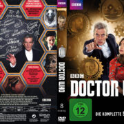 Doctor Who: Staffel 8 (2014) R2 German Custom Cover & labels
