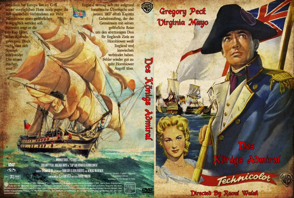 Des Königs Admiral dvd cover (1951) R2 German
