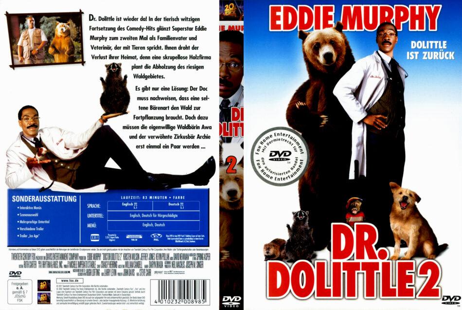 Dr Dolittle 2 Dvd Cover 2001 R2 German
