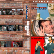 Bill Murray Triple Feature (1981-1997) R1 Custom Blu-Ray Cover
