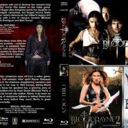 Bloodrayne Trilogy (2005-2011) R1 Custom Blu-Ray Cover