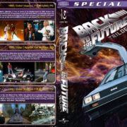 Back to the Future Trilogy (1985-1990) R1 Custom Blu-Ray Cover