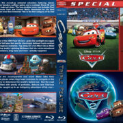Cars Triple Feature (2006-2011) R1 Custom Blu-Ray Cover