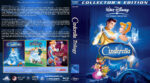 Cinderella Trilogy (1950-2006) R1 Custom Blu-Ray Cover