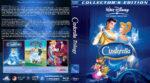 Cinderella Trilogy (1950-2006) R1 Custom Blu-Ray Cover