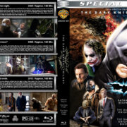 The Dark Knight Trilogy (2005-2012) R1 Custom Blu-Ray Covers