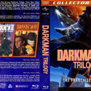 Darkman Trilogy: The Franchise Collection (1990-1996) R1 Custom Blu-Ray Cover