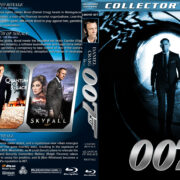 Daniel Craig - 007 Trilogy (2006-2012) R1 Custom Blu-Ray Covers