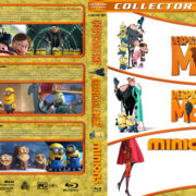 Despicable Me / Despicable Me 2 / Minions Triple Feature (2010-2015) R1 Custom Blu-Ray Covers