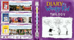 Diary of a Wimpy Kid Trilogy (2010-2012) R1 Custom Blu-Ray Cover