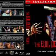 The Evil Dead Trilogy (1982-1992) R1 Custom Blu-Ray Cover