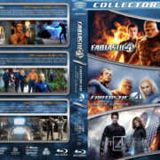 Fantastic 4 Triple Feature (2005-2015) R1 Custom Blu-Ray Cover