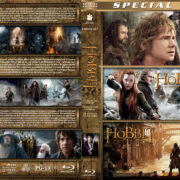 The Hobbit Triple Feature (2012-2014) R1 Custom Blu-Ray Cover