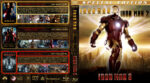 Iron Man Triple Feature (2008-2013) R1 Custom Blu-Ray Covers