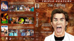 Ace Ventura / The Mask / Dumb and Dumber Triple Feature (1994) R1 Custom Blu-Ray Cover