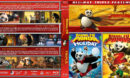 Kung Fu Panda Triple Feature (2008-2012) R1 Custom Blu-Ray Cover