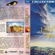 The Lion King Trilogy (1994-2004) R1 Custom Blu-Ray Cover