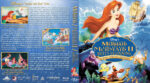 The Little Mermaid Triple Feature (1989-2008) R1 Custom Blu-Ray Cover