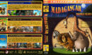 Madagascar Triple Feature (2005-2012) R1 Custom Blu-Ray Cover