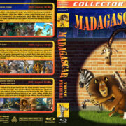 Madagascar Triple Feature (2005-2012) R1 Custom Blu-Ray Cover