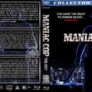 Maniac Cop Trilogy (1988-2004) R1 Custom Blu-Ray Cover