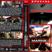 The Marine Triple Feature (2006-2013) R1 Custom Blu-Ray Cover