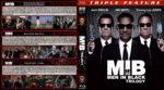 Men in Black Trilogy (1997-2012) R1 Custom Blu-Ray Covers
