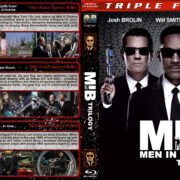 Men in Black Trilogy (1997-2012) R1 Custom Blu-Ray Covers