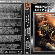 Missing in Action Triple Feature (1984-1989) R1 Custom Blu-Ray Cover