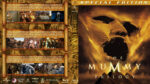 The Mummy Trilogy (1999-2008) R1 Custom Blu-Ray Covers
