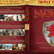 The Chronicles of Narnia Trilogy (2005-2010) R1 Custom Blu-Ray Cover