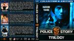 Police Story Trilogy (1985-1992) R1 Custom Blu-Ray Cover