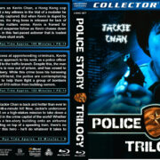 Police Story Trilogy (1985-1992) R1 Custom Blu-Ray Cover