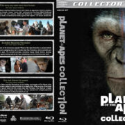 Planet of the Apes Collection (2001-2014) R1 Custom Blu-Ray Cover