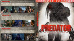 Predator Trilogy (1987-2010) R1 Custom Blu-Ray Cover