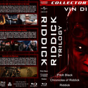 Riddick Trilogy (1999-2013) R1 Custom Blu-Ray Cover