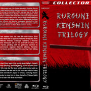 Rurouni Kenshin Trilogy (2012-2014) R1 Custom Blu-Ray Covers