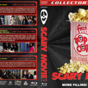 Scary Movie 1-3 (2000-2003) R1 Custom Blu-Ray Cover