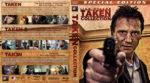 Taken Trilogy (2008-2015) R1 Custom Blu-Ray Cover