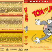 Tom and Jerry Triple Feature (2005-2011) R1 Custom Blu-Ray Cover