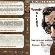 Woody Allen Triple Feature (1969-1984) R1 Custom Blu-Ray Cover