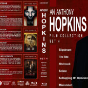 Anthony Hopkins Film Collection - Set 4 (2007-2016) R1 Custom Blu-Ray Cover