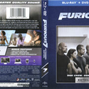 Furious 7 (2015) R1 Blu-Ray Cover & labels
