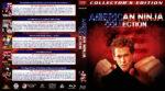 American Ninja Collection (5-disc) (1985-1993) R1 Custom Blu-Ray Cover